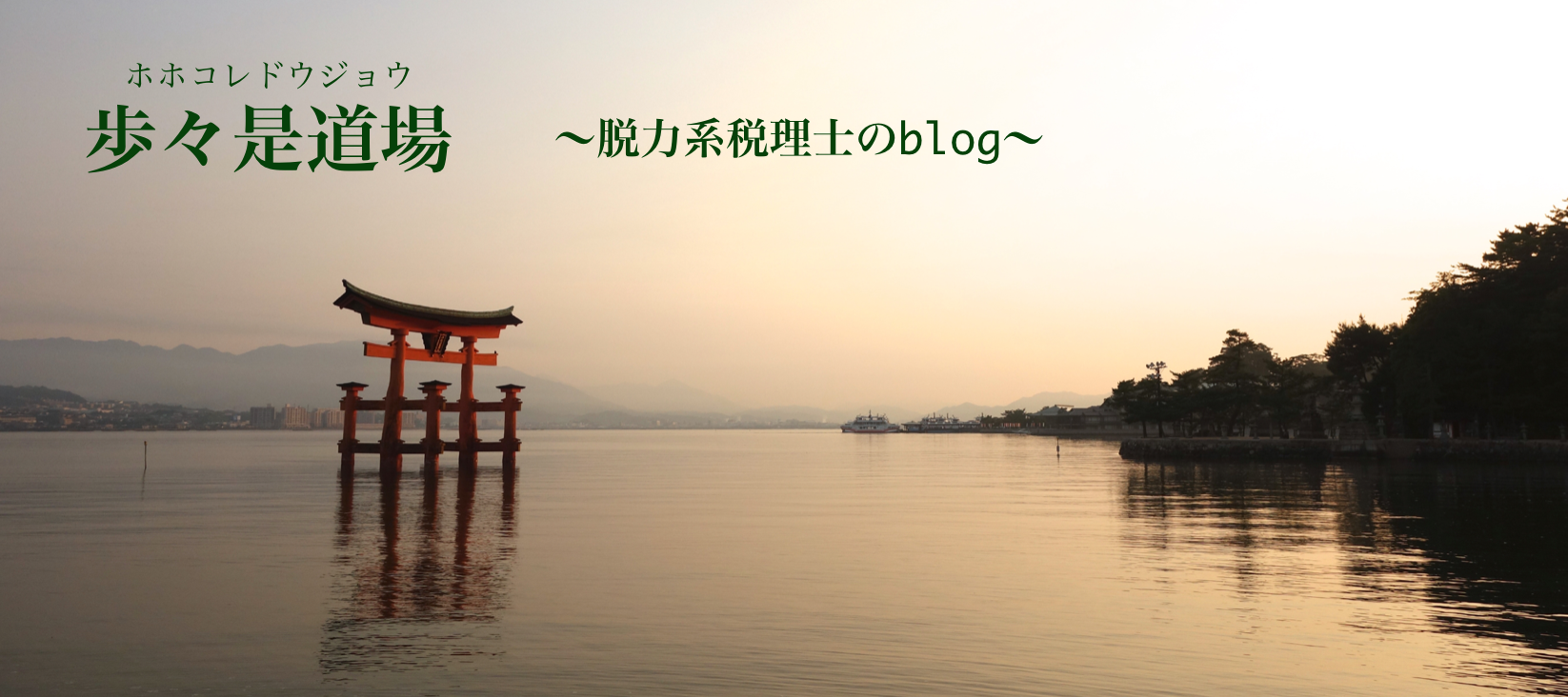 歩々是道場 〜脱力系税理士のblog〜